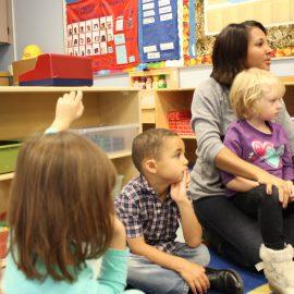 Gerir comportamentos, atenção e tempo das crianças na sala de jardim de infância